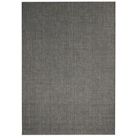 vidaXL Sisaltyylinen matto sisä-/ulkotiloihin 80x150 cm tummanharmaa