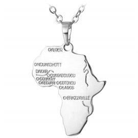 eStore U7 Afrikka-kaulakoru - Hopea