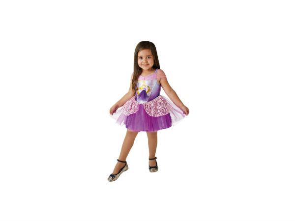 Disney Princess Tähkäpää ballerinapuku XS