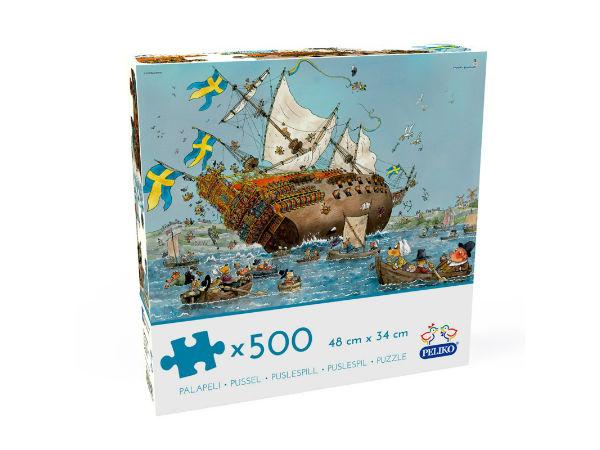 Mauri Kunnas Vasa-laiva 500 palaa