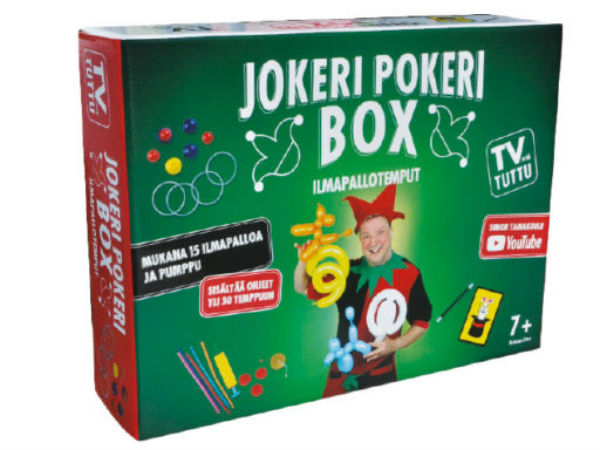 Jokeri Pokeri Box ilmapallotemput
