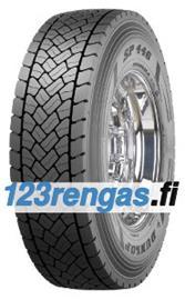 Dunlop SP 446 ( 205/75 R17.5 124/122M 12PR kaksoistunnus 126/124G ) Kuorma-auton renkaat