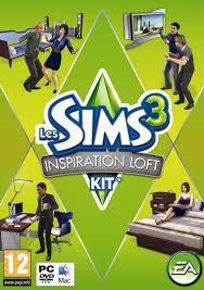 Sims 3: Inspiration Loft Kit, PC -peli
