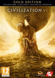 Sid Meier's Civilization VI (6) - Gold Edition, PC-peli