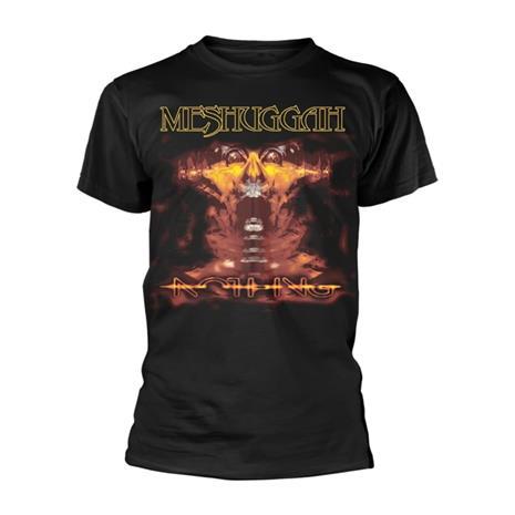 Rockshirts Meshuggah Nothing T-Paita