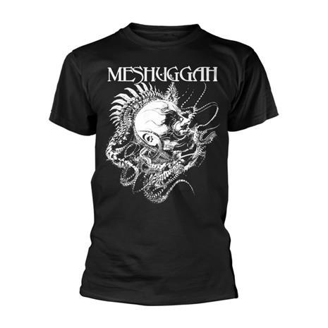 Rockshirts Meshuggah Spine Head T-Paita