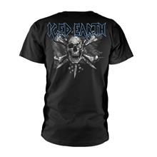 Rockshirts Iced Earth Black Flag T-Paita