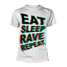 Rockshirts Fatboy Slim Eat Sleep Rave Repeat T-Paita