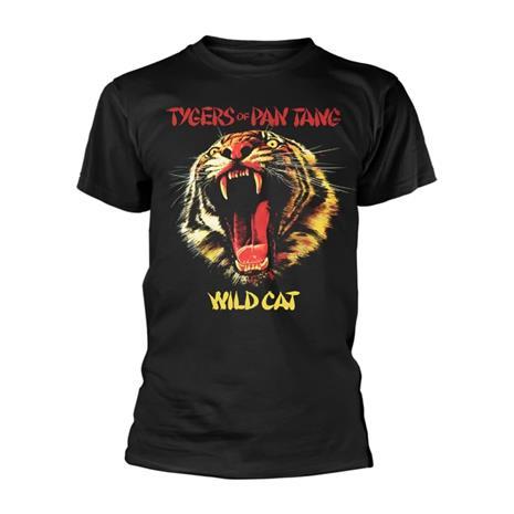 Rockshirts Tygers Of Pan Tang Wild Cat T-Paita