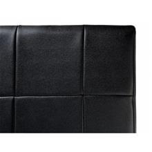 Beliani Parisänky - Musta - Nahkasänky - Sis. sälepohjan - 180x200 cm - VICHY