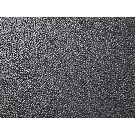 Beliani Nahkaverhoiltu musta vesisänky 160x200 cm LILLE