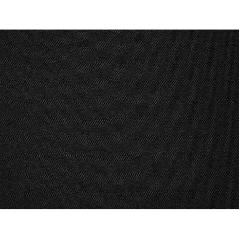 Beliani Moderni kankainen parisänky - Musta - 160x200 cm - VIENNE