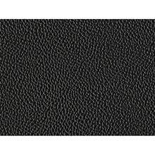 Beliani Nahkaverhoiltu pyöreä parisänky 180x200 cm - musta LAVAL