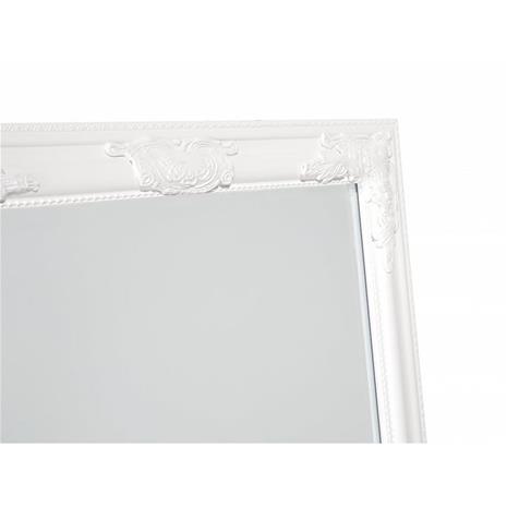 Beliani Seinäpeili valkoisella kehyksellä 51 x 141 cm - VARS