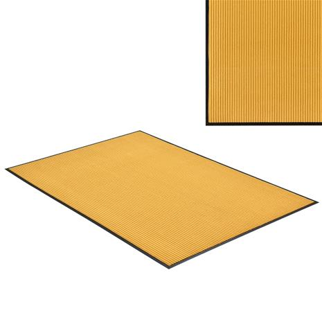 [en.casa]® Kynnysmato / ovimatto - sinapinkeltainen - 240 x 180 cm