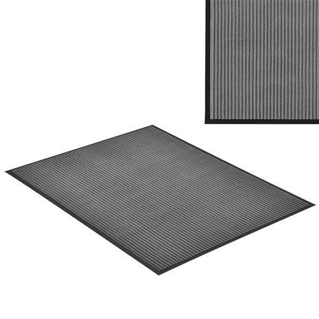[en.casa]® Kynnysmato / ovimatto - tummanharmaa - 150 x 90 cm