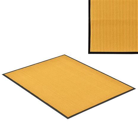 [en.casa]® Kynnysmato / ovimatto - sinapinkeltainen - 150 x 90 cm