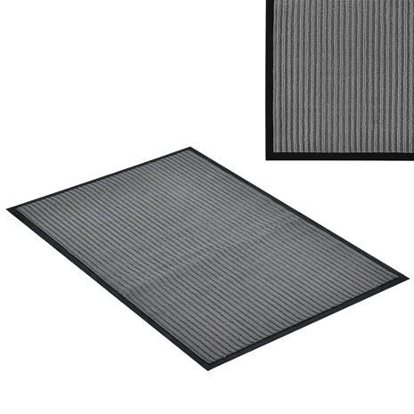 [en.casa]® Kynnysmato / ovimatto - tummanharmaa - 90 x 60 cm
