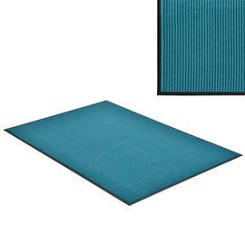 [en.casa]® Kynnysmato / ovimatto - turkoosi- 150 x 90 cm
