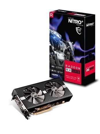 Sapphire Radeon RX 590 Nitro+ OC (11289-05-20G) 8 GB, PCI-E, näytönohjain