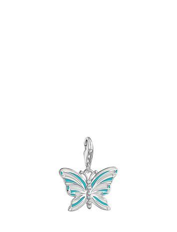 Thomas Sabo Charm Pendant Butterfly Monivärinen/Kuvioitu