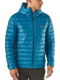 Patagonia Down Sweater Hoody Jacket balkan blue Miehet