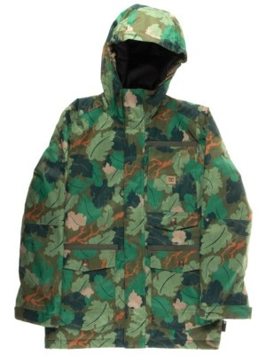 DC Servo Jacket Boys chive leaf camo youth Jätkät