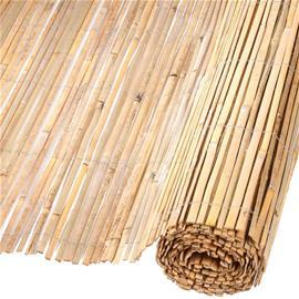 Nature Puutarha-aita Bambu Luonnollinen 1,5x5 m 6050121