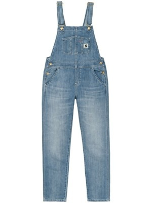 Carhartt WIP Bib Overall Jeans blue light stone washed Naiset