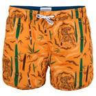 Muchachomalo Swim Tiger Wood Boardshort * Ilmainen Toimitus * * Kampanja *