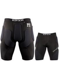 Body Glove Power Pro Protector Shorts Youth black / silver Jätkät