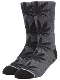 HUF Plantlife Kush Melange Socks black Miehet