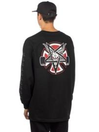 Independent X Thrasher Pentagram Cross T-Shirt LS black Miehet