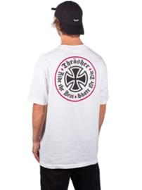 Independent X Thrasher Oath T-Shirt white Miehet
