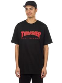 Independent X Thrasher BTG T-Shirt black Miehet