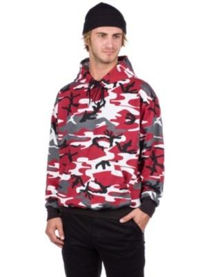 Rothco New Pullover Camo Hoodie red camo Miehet