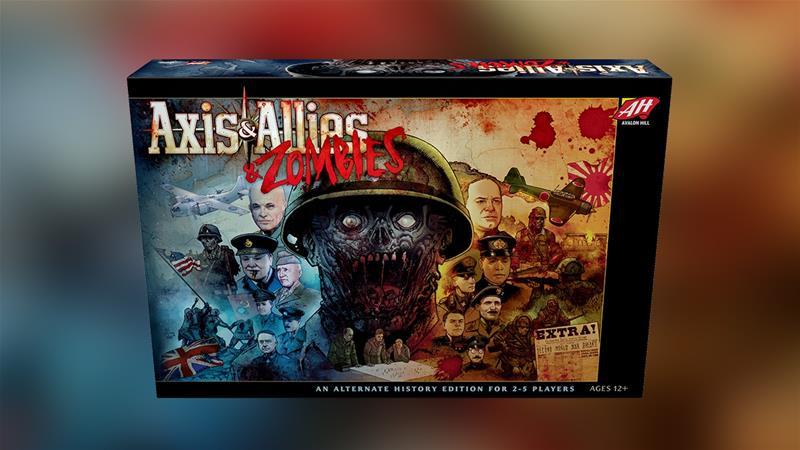 Axis & Allies & Zombies, lautapeli