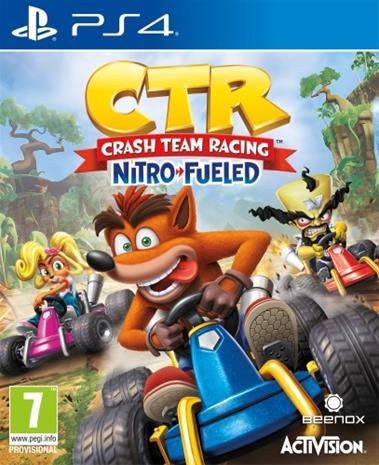 Crash Team Racing: Nitro-Fueled!, PS4 -peli