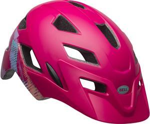 Bell Sidetrack Lapset Pyöräilykypärä , vaaleanpunainen/punainen