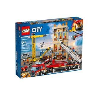 Lego City 60216, Keskustan palokunta (Downtown Fire Brigade)