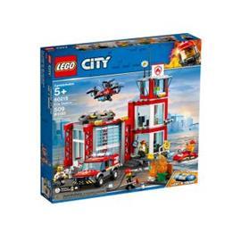 Lego City 60215, Paloasema (Fire Station)