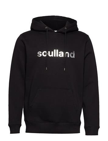 Soulland Logic Google Hooded Sweat Musta