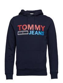 Tommy Jeans Tjm Corp Logo Hoodie Sininen