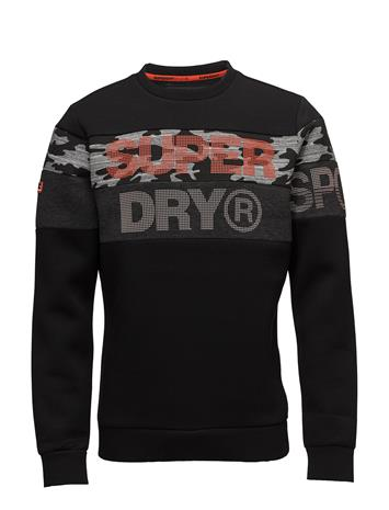 Superdry Sport Gym Tech Cut Crew Musta