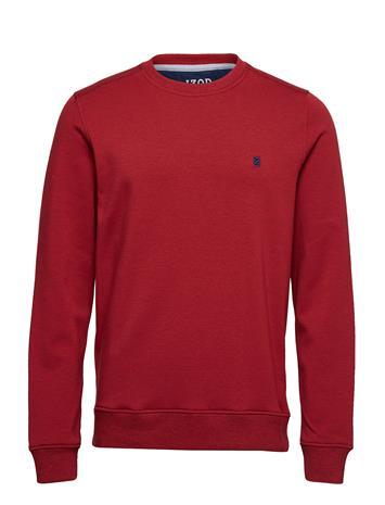 IZOD Fleece Sweatshirt Punainen