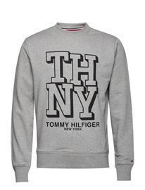 Tommy Hilfiger Varsity Artwork Sweatshirt Harmaa
