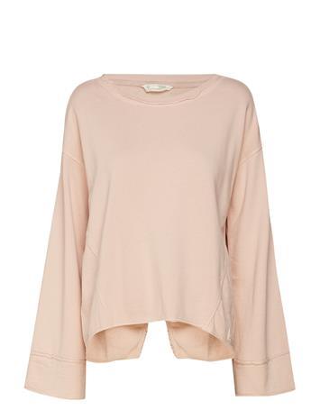 ODD MOLLY Back Swag Sweater Vaaleanpunainen