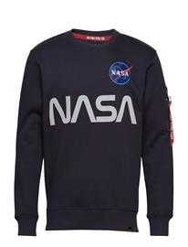 Alpha Industries Nasa Reflective Sweater Sininen
