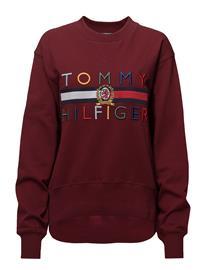 Hilfiger Collection Hilfiger Sweatshirt Ls Punainen