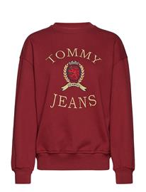 Tommy Jeans Tjw Crest Crew W11, Punainen